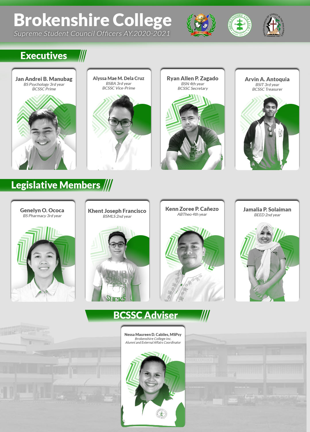 The BCSSC AY 2020-2021